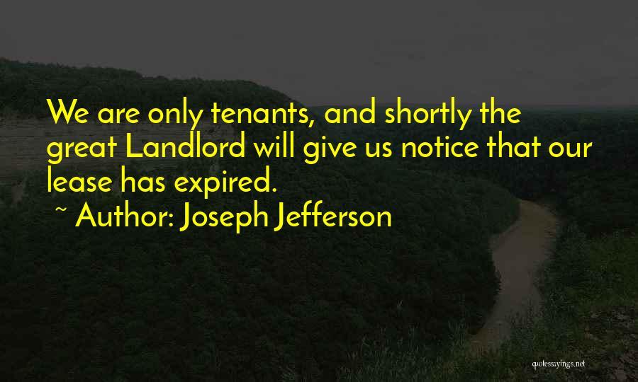Joseph Jefferson Quotes 1017304