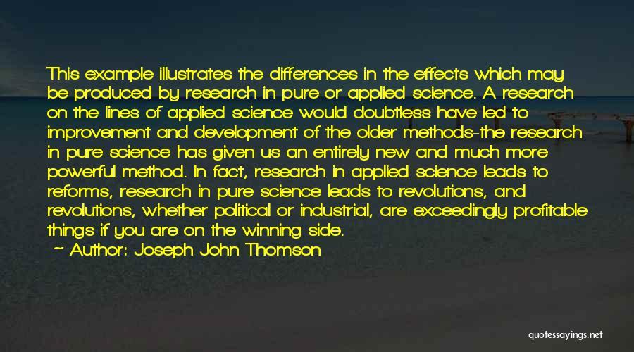 Joseph John Thomson Quotes 1414645