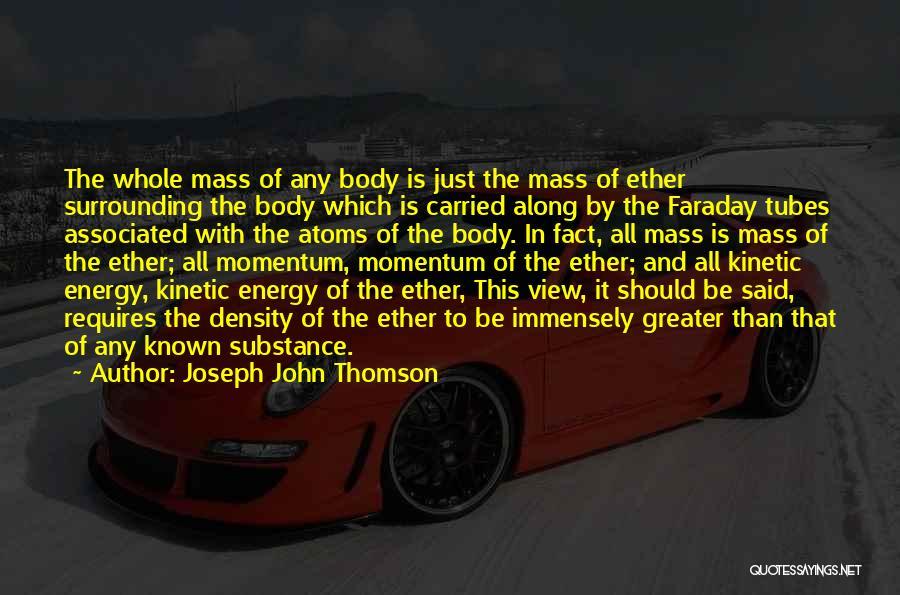 Joseph John Thomson Quotes 1845255