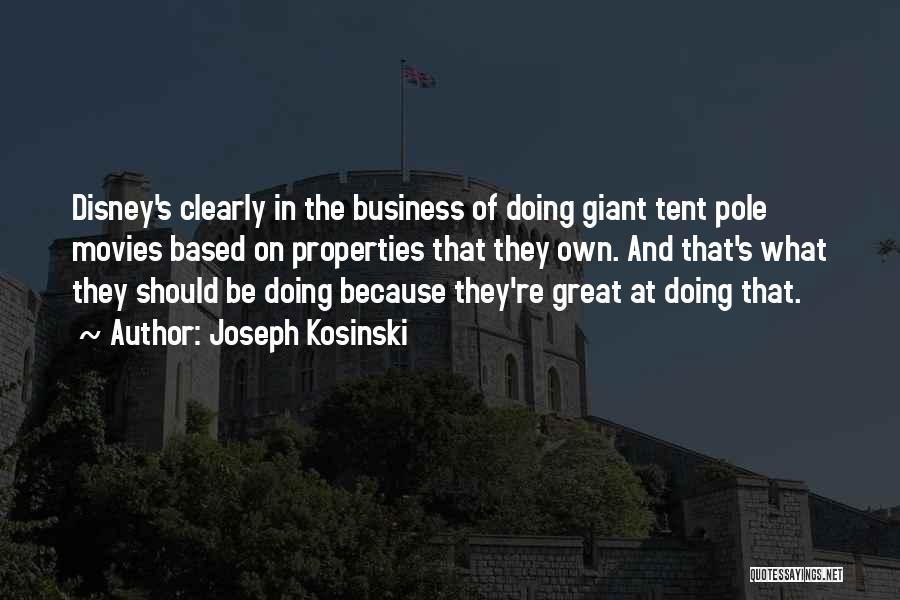 Joseph Kosinski Quotes 133707