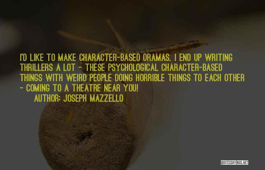 Joseph Mazzello Quotes 1859940