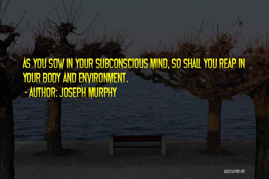 Joseph Murphy Quotes 330943