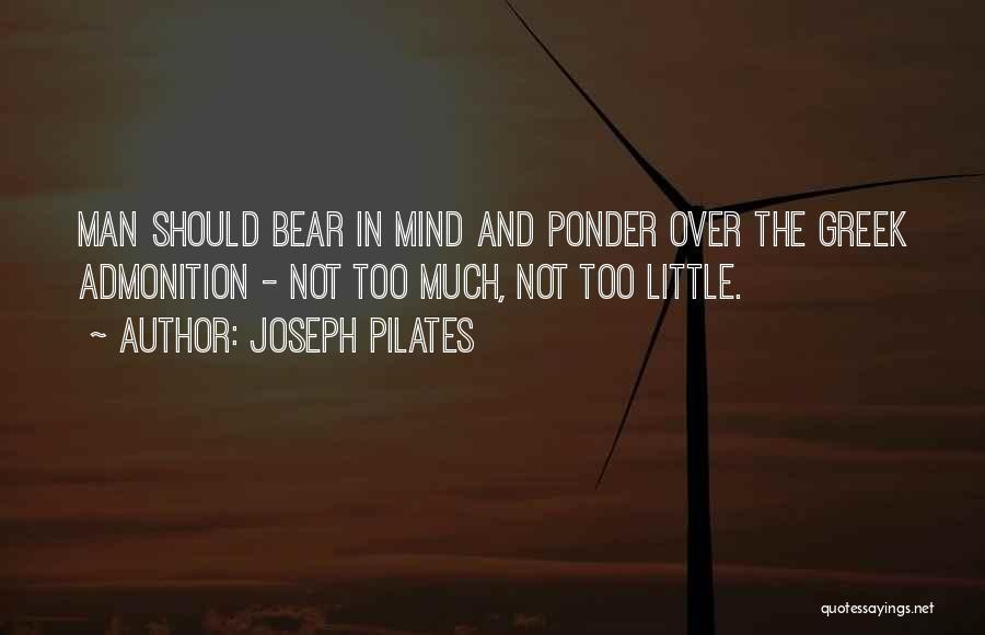 Joseph Pilates Quotes 123180