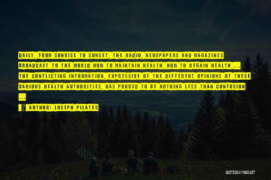 Joseph Pilates Quotes 1289131
