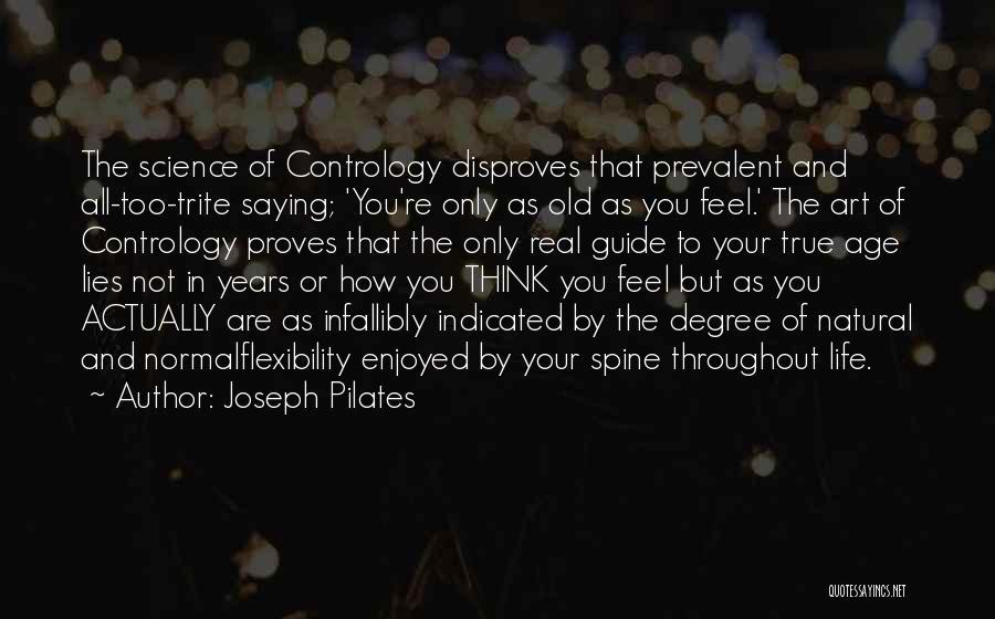 Joseph Pilates Quotes 1541304