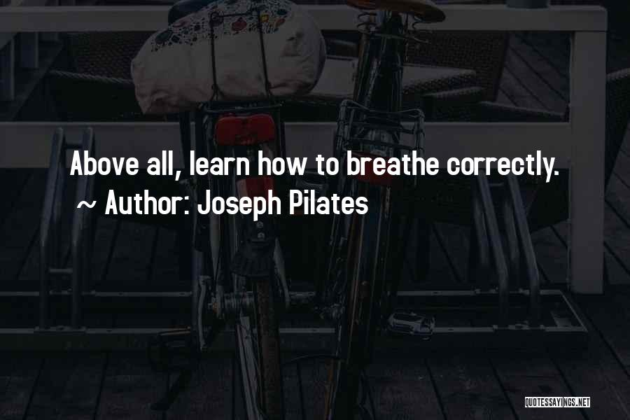 Joseph Pilates Quotes 1861680