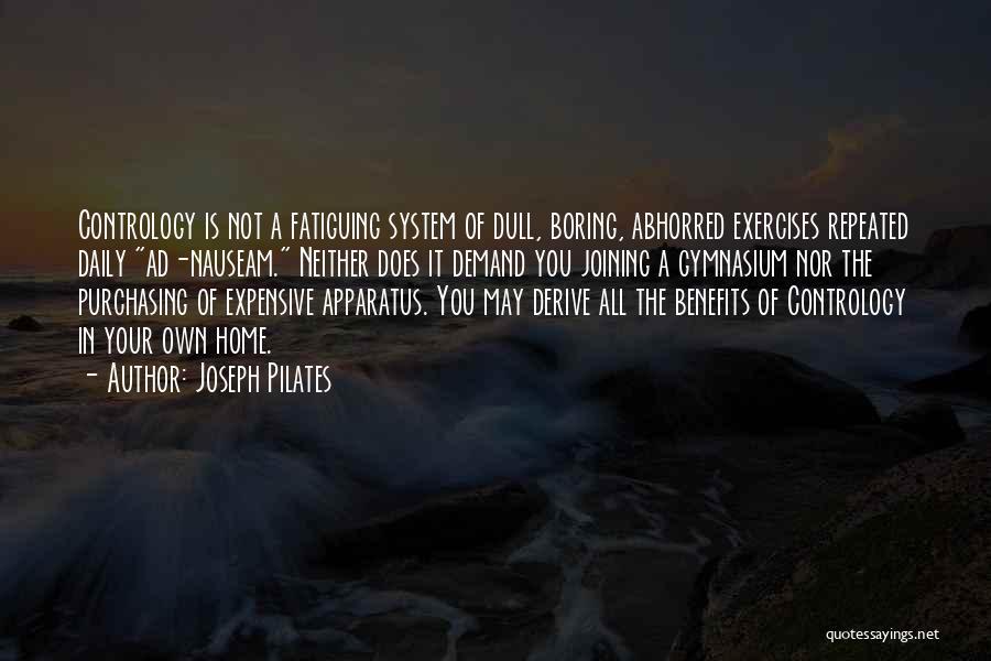 Joseph Pilates Quotes 1954420