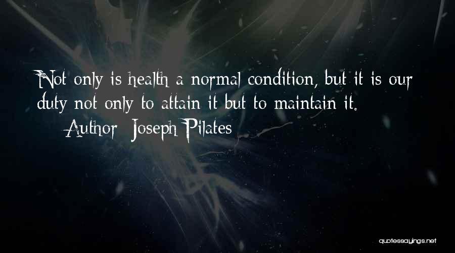 Joseph Pilates Quotes 290818