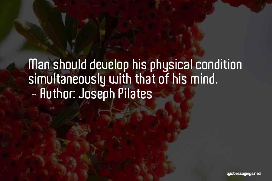 Joseph Pilates Quotes 603584