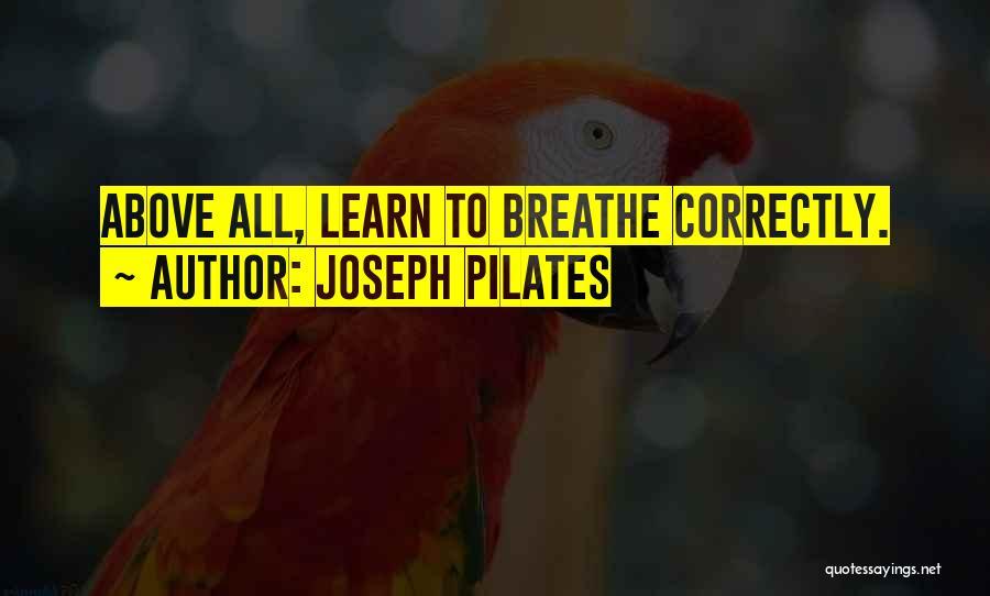 Joseph Pilates Quotes 610717