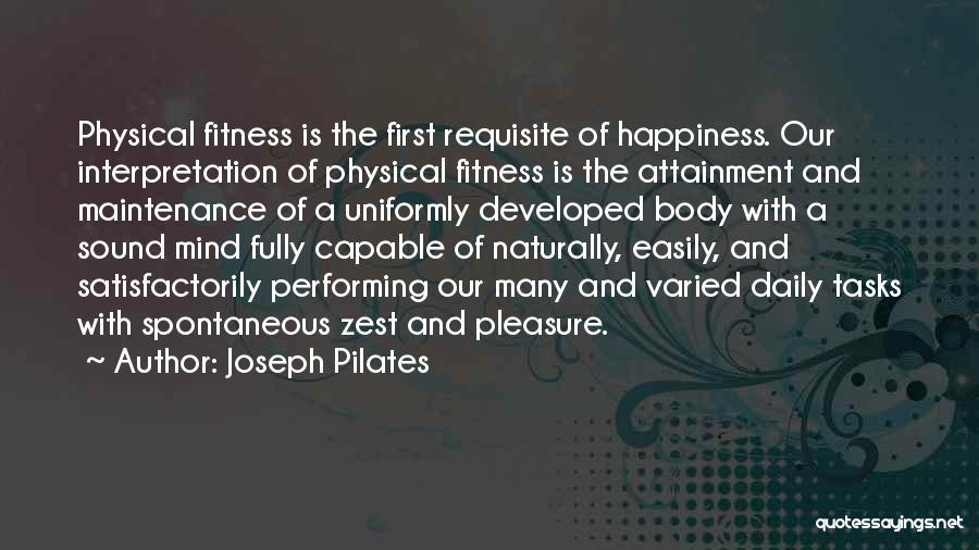 Joseph Pilates Quotes 903126