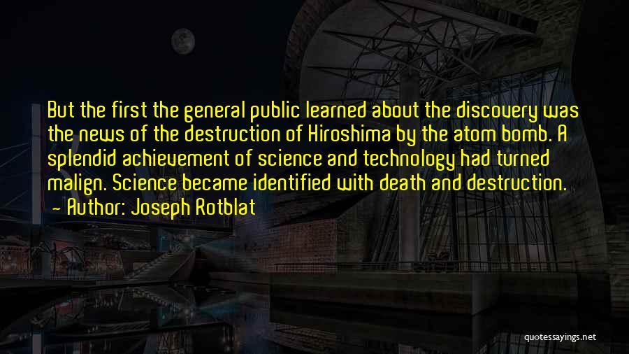 Joseph Rotblat Quotes 1064173