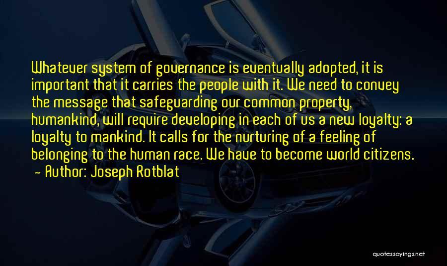 Joseph Rotblat Quotes 1649751
