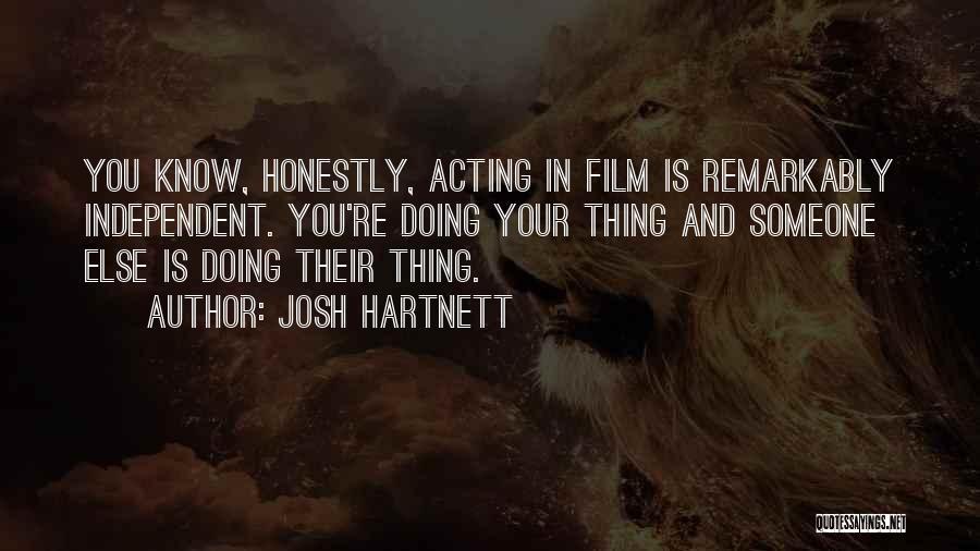 Josh Hartnett Quotes 1404110