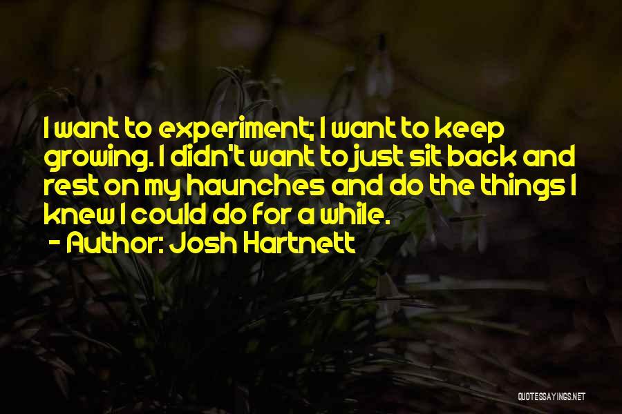 Josh Hartnett Quotes 354063