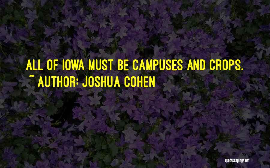 Joshua Cohen Quotes 104642