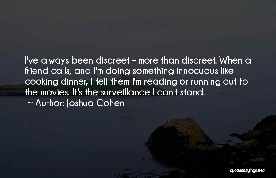 Joshua Cohen Quotes 153647