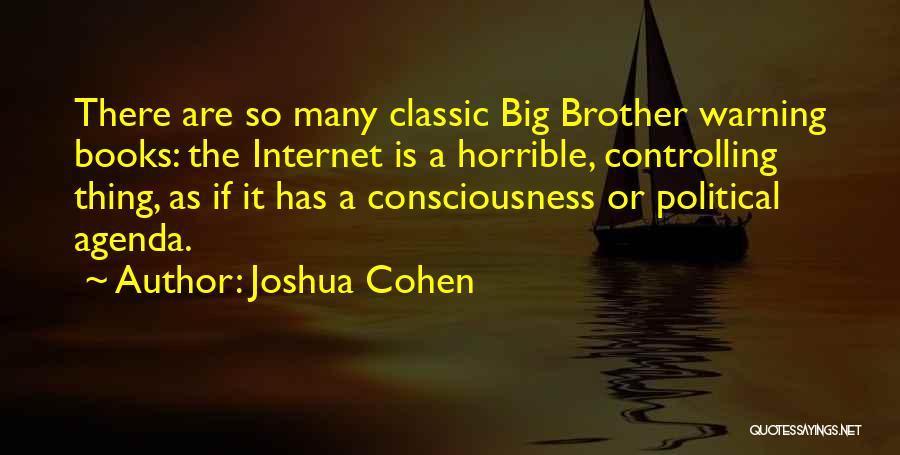 Joshua Cohen Quotes 1539898