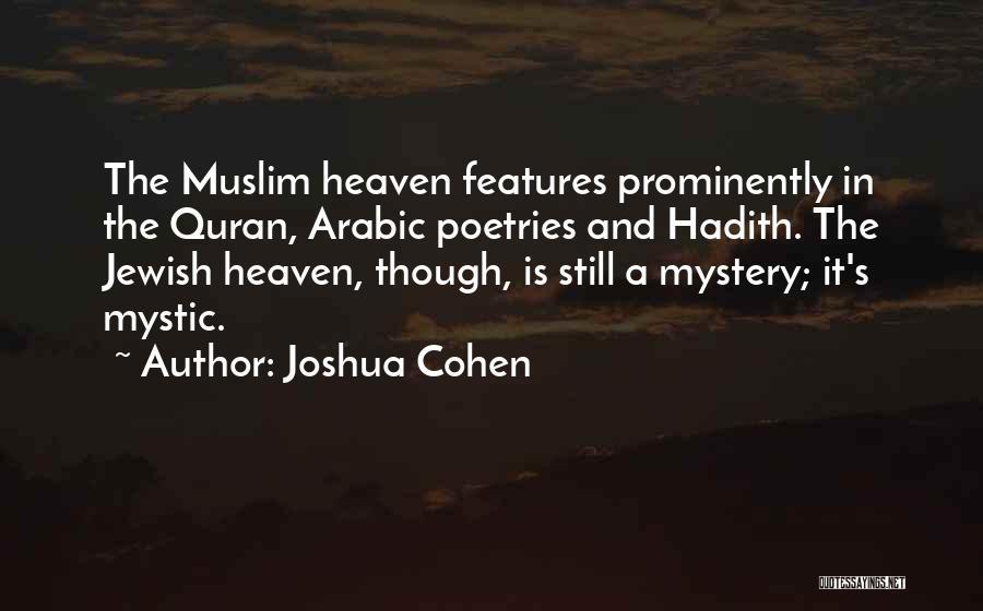 Joshua Cohen Quotes 1582617