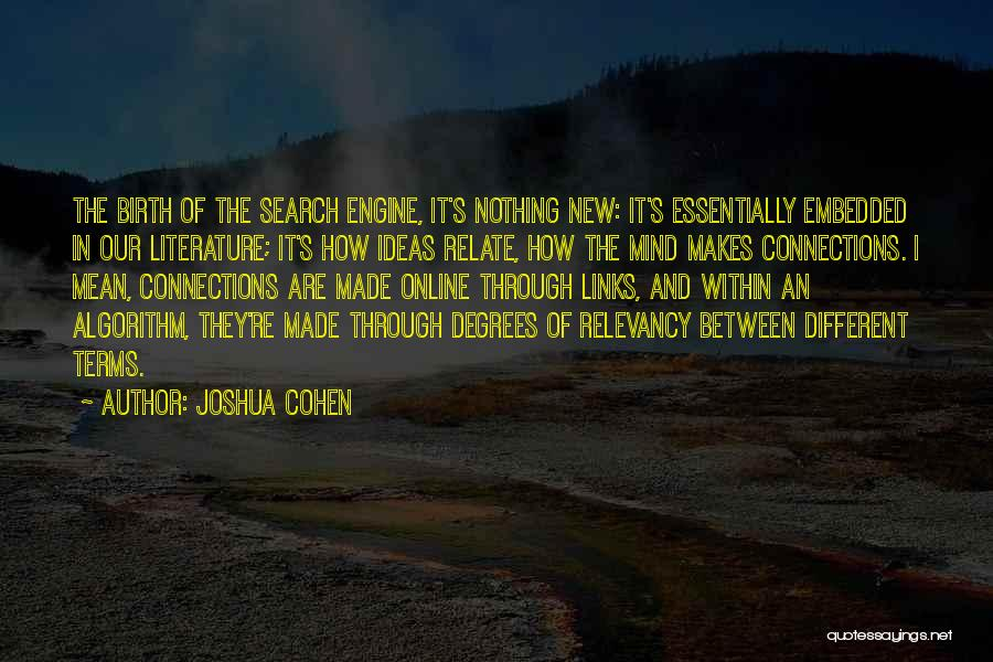 Joshua Cohen Quotes 1916122