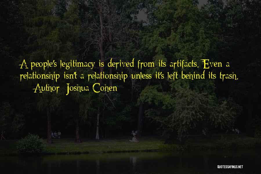 Joshua Cohen Quotes 1964090