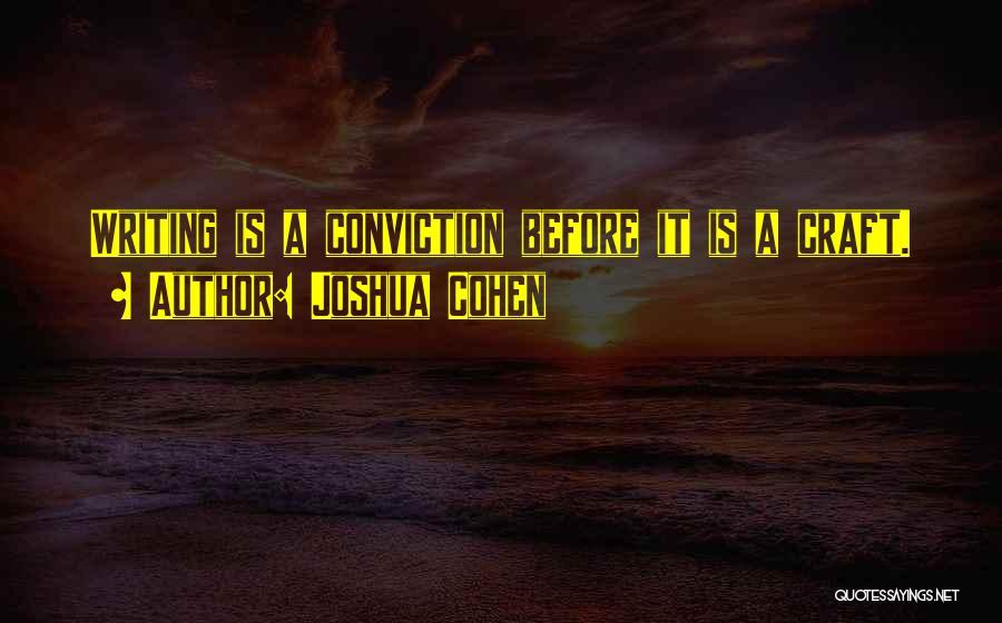 Joshua Cohen Quotes 2029600