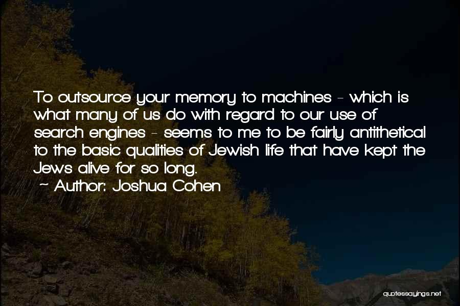 Joshua Cohen Quotes 2081027