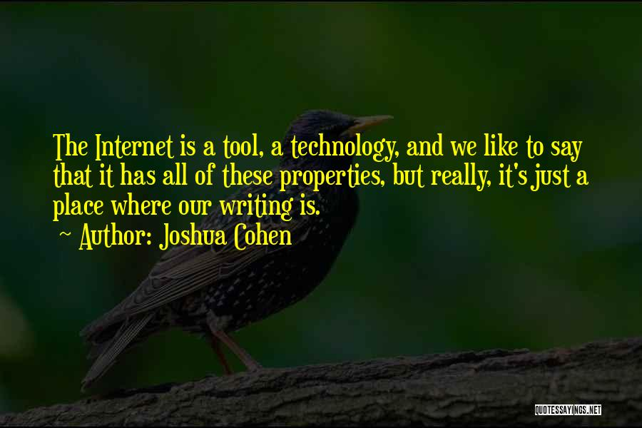 Joshua Cohen Quotes 2150684