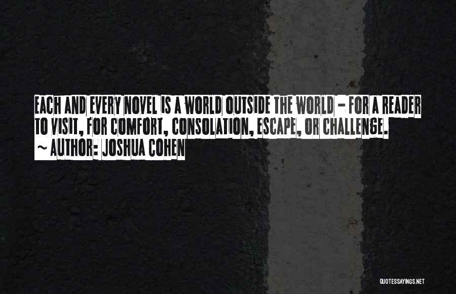 Joshua Cohen Quotes 2190473