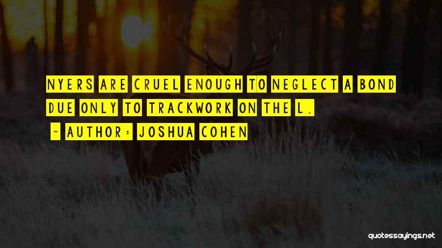Joshua Cohen Quotes 2267734