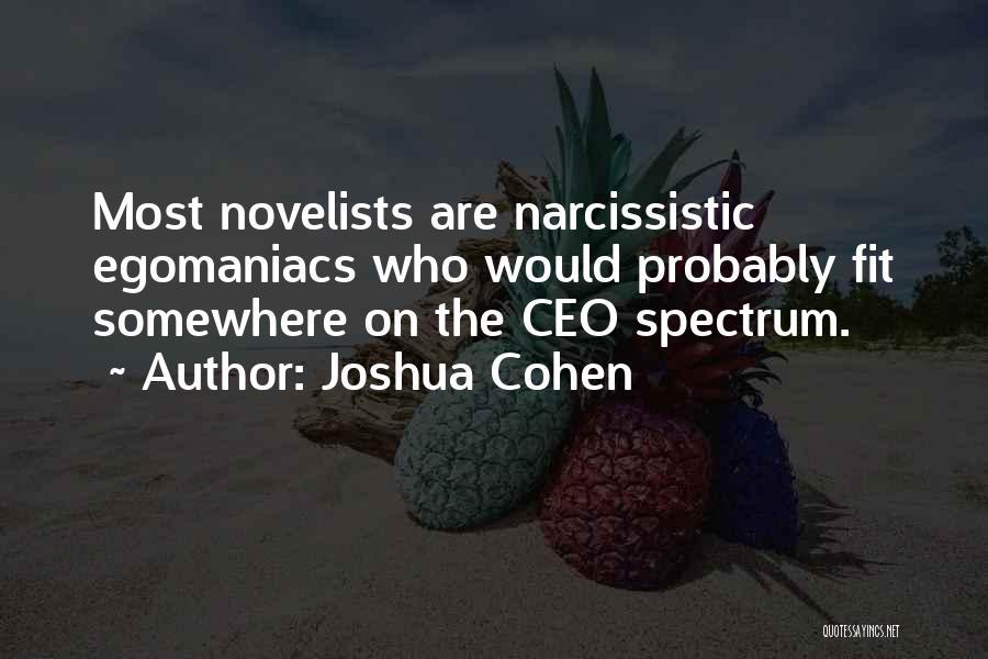 Joshua Cohen Quotes 613769