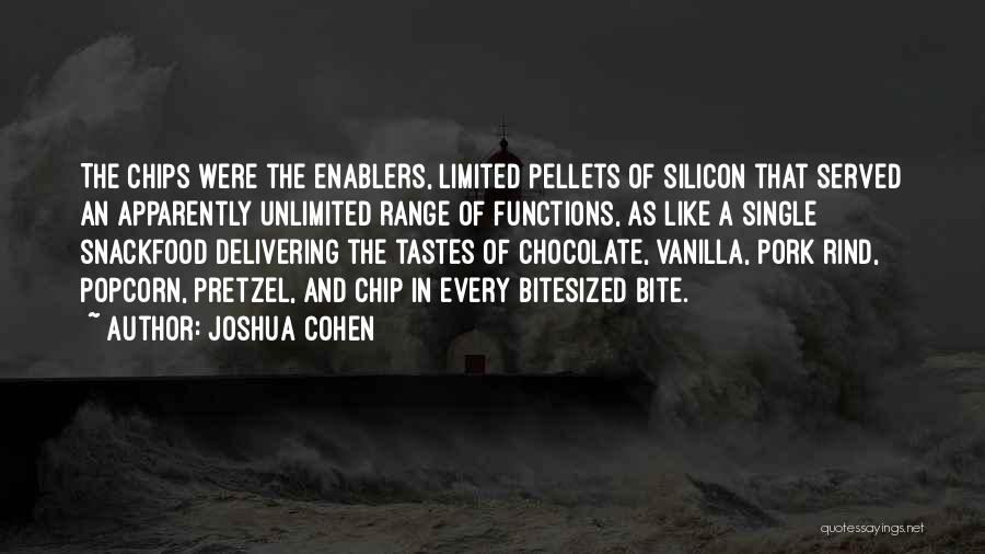 Joshua Cohen Quotes 678675