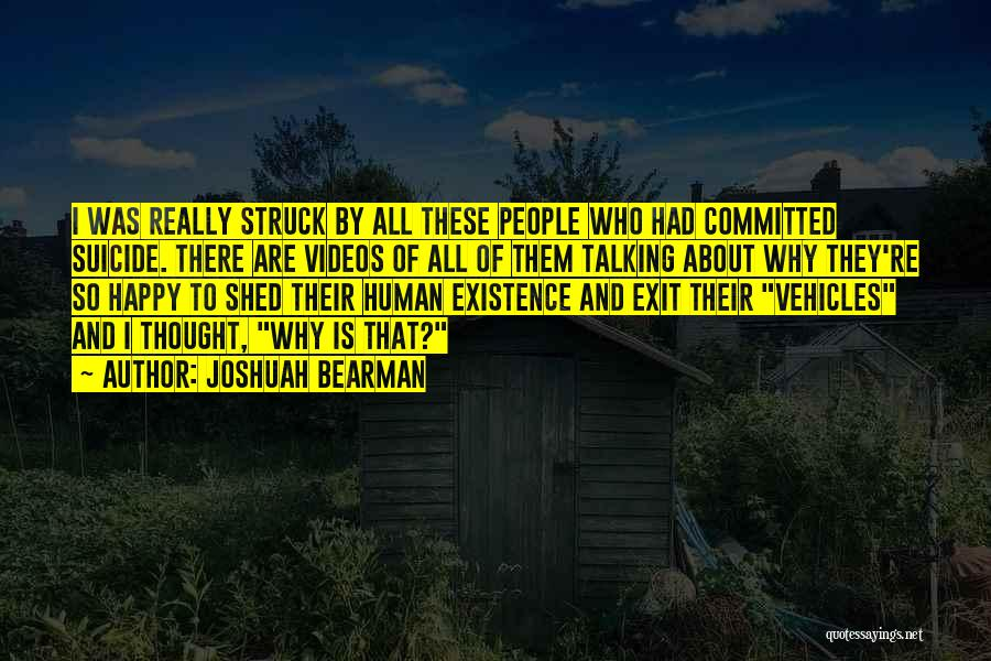 Joshuah Bearman Quotes 133870