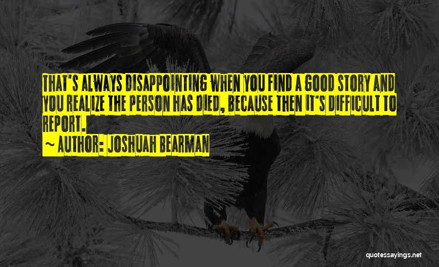 Joshuah Bearman Quotes 1588752