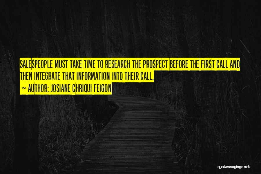 Josiane Chriqui Feigon Quotes 1453693