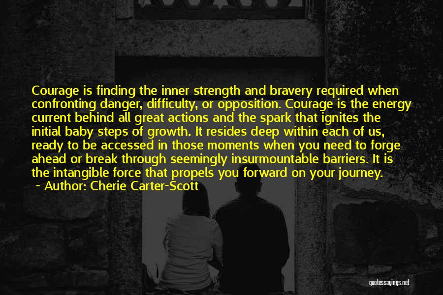 Journey And Growth Quotes By Cherie Carter-Scott