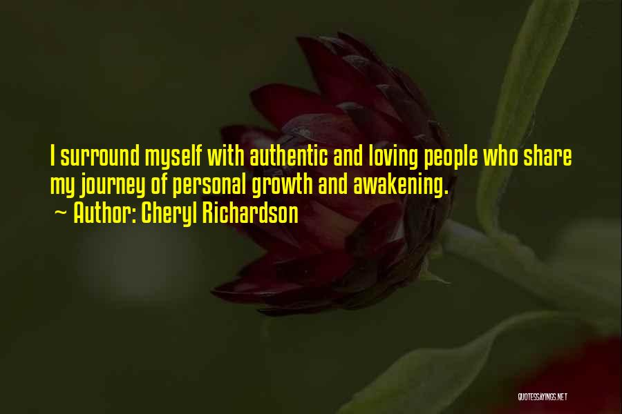 Journey And Growth Quotes By Cheryl Richardson