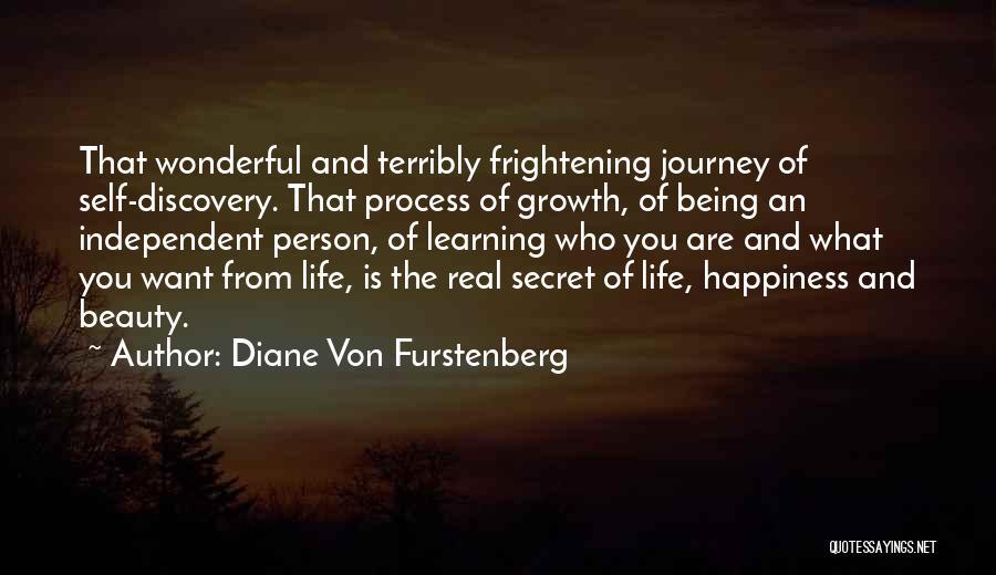 Journey And Growth Quotes By Diane Von Furstenberg