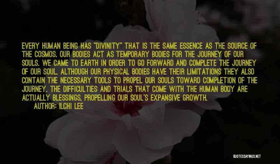 Journey And Growth Quotes By Ilchi Lee