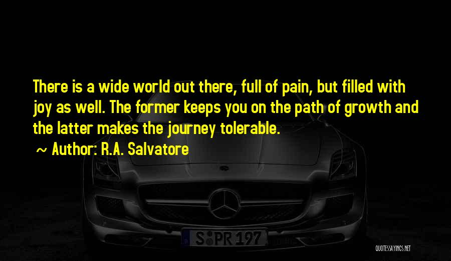Journey And Growth Quotes By R.A. Salvatore