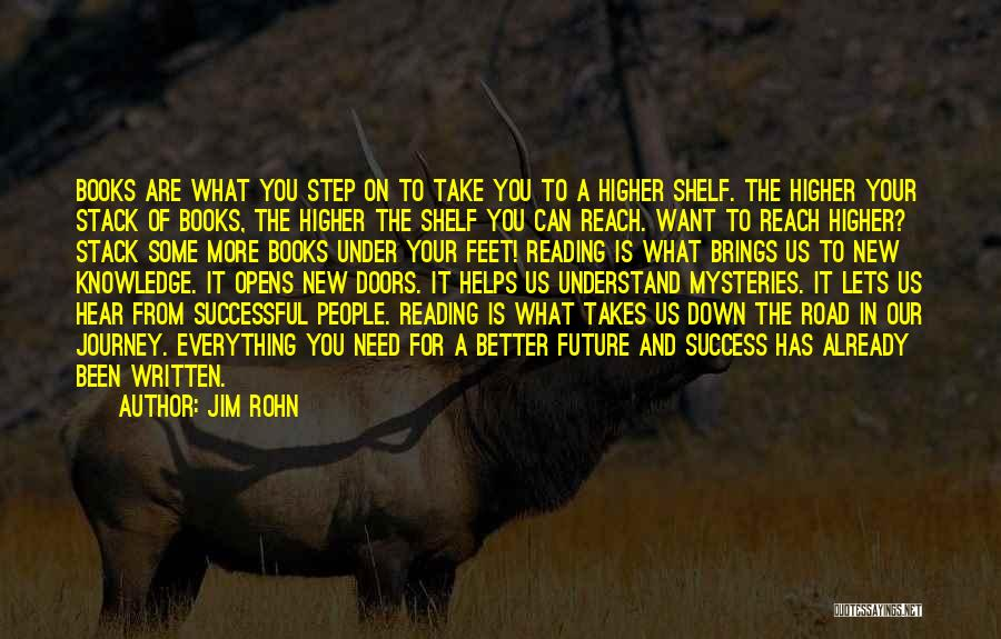 Journey Down The Road Quotes By Jim Rohn