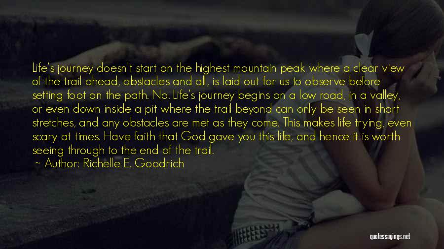 Journey Down The Road Quotes By Richelle E. Goodrich