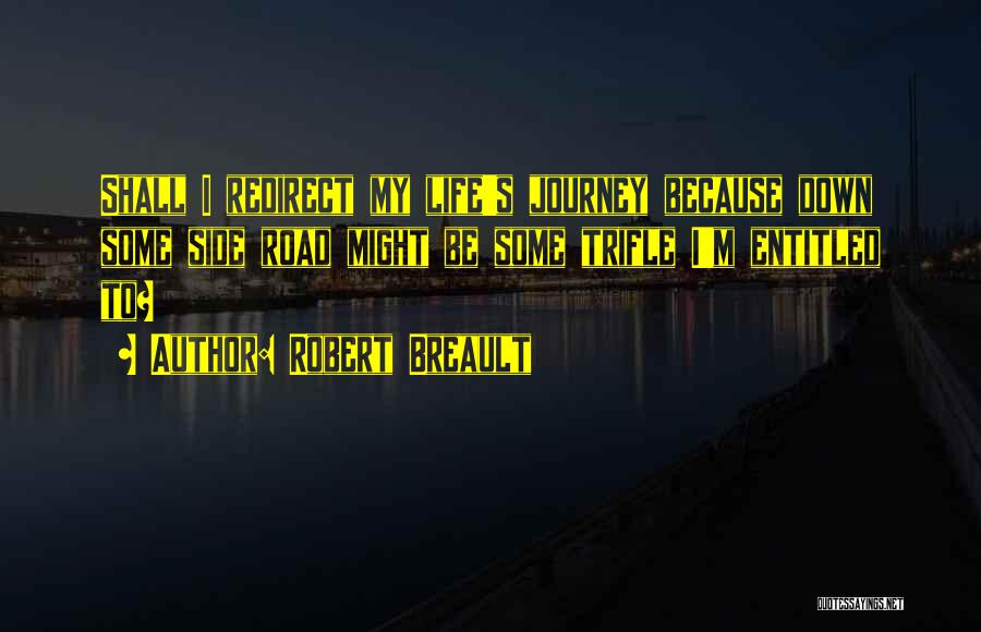 Journey Down The Road Quotes By Robert Breault