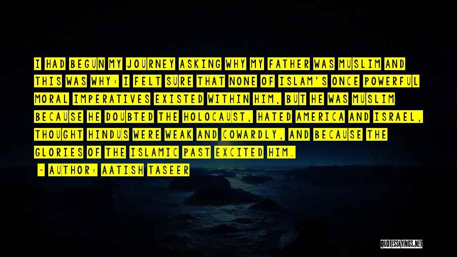 Journey Has Just Begun Quotes By Aatish Taseer