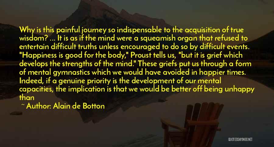 Journey Through Love Quotes By Alain De Botton