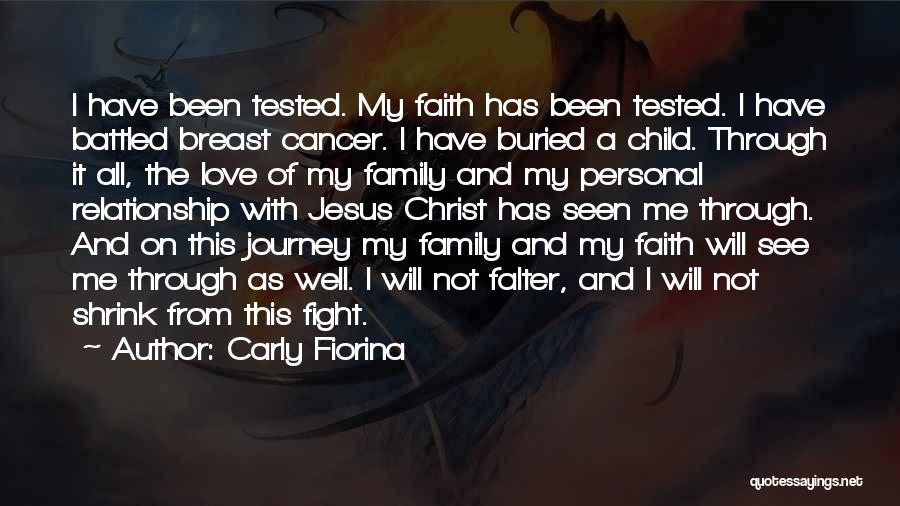 Journey Through Love Quotes By Carly Fiorina