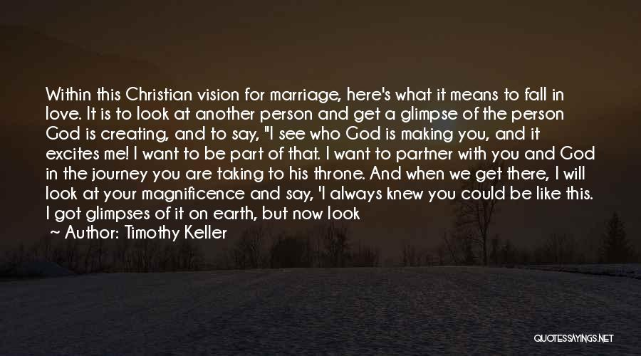 Journey Through Love Quotes By Timothy Keller