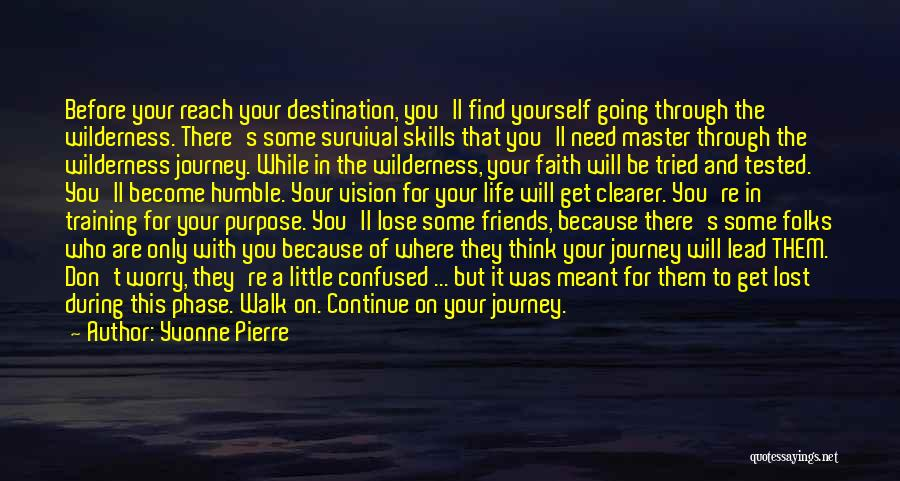 Journey Through Love Quotes By Yvonne Pierre