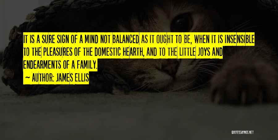 Joy And Family Quotes By James Ellis