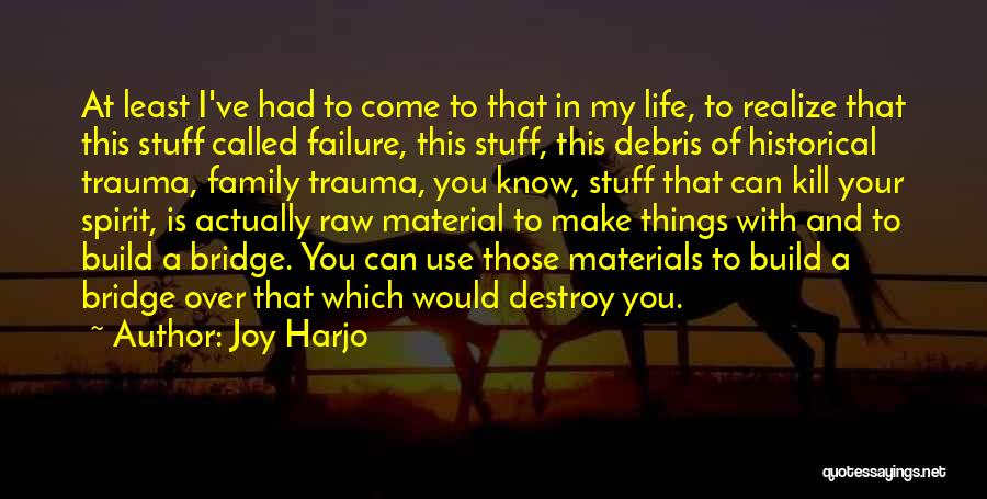 Joy And Family Quotes By Joy Harjo